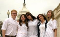 Photograph: A Group of Teenangels in Washington, D.C.