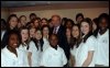 Senator Menendez (D-NJ) with some of his Teenangels and Tweenangels constituents.